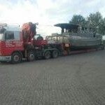 18m casco x 4,85m breed en transporthoogte van 5,10m